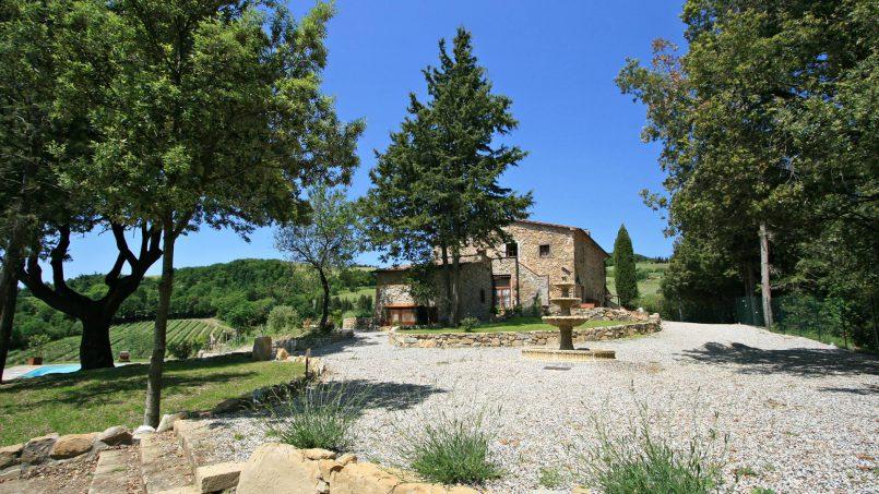 Hillside stone house Villa Frida VI Tuscany Montecatini 27