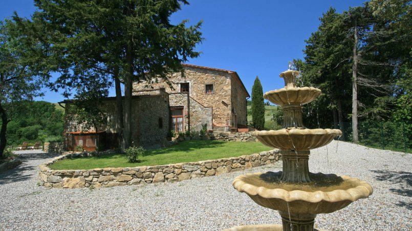 Hillside stone house Villa Frida VI Tuscany Montecatini 29