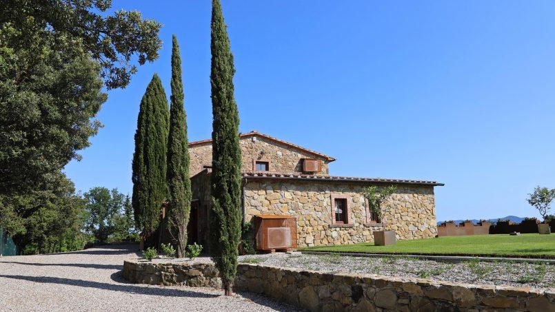 Hillside stone house Villa Frida VI Tuscany Montecatini 1-3