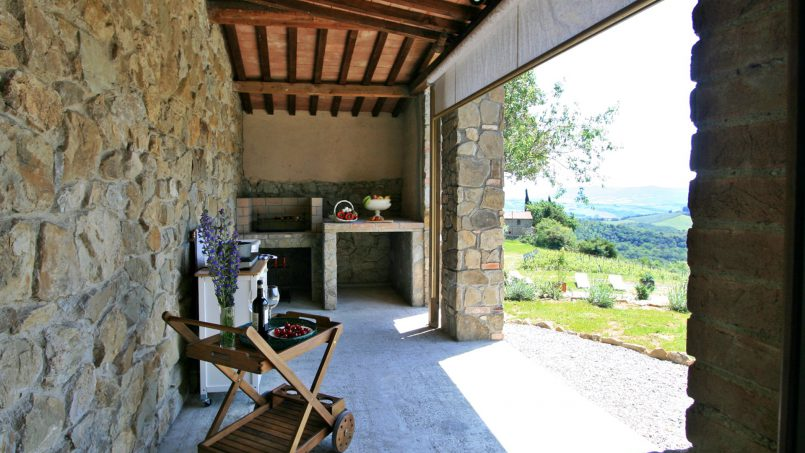 Hillside stone house Villa Frida VI Tuscany Montecatini 35