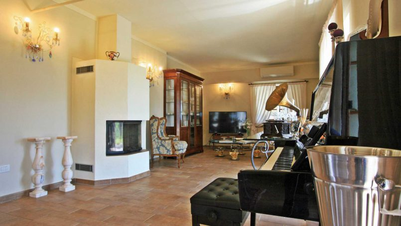 Hillside stone house Villa Frida VI Tuscany Montecatini 45