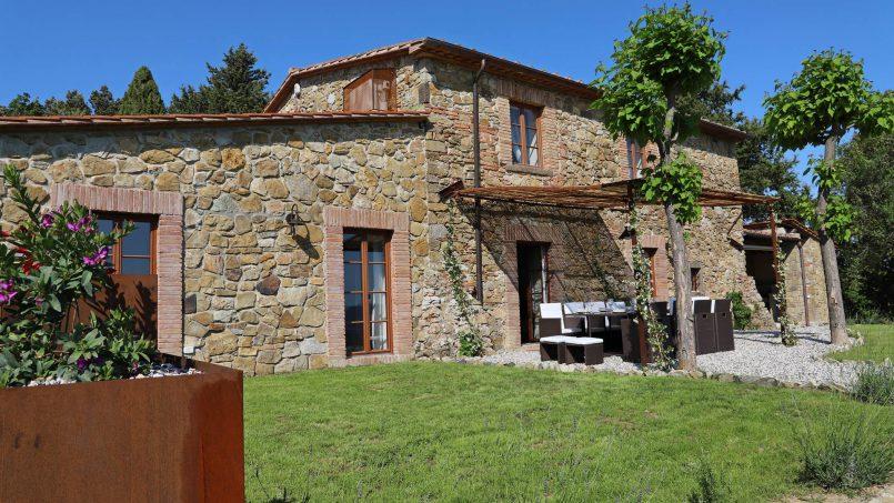 Hillside stone house Villa Frida VI Tuscany Montecatini 6