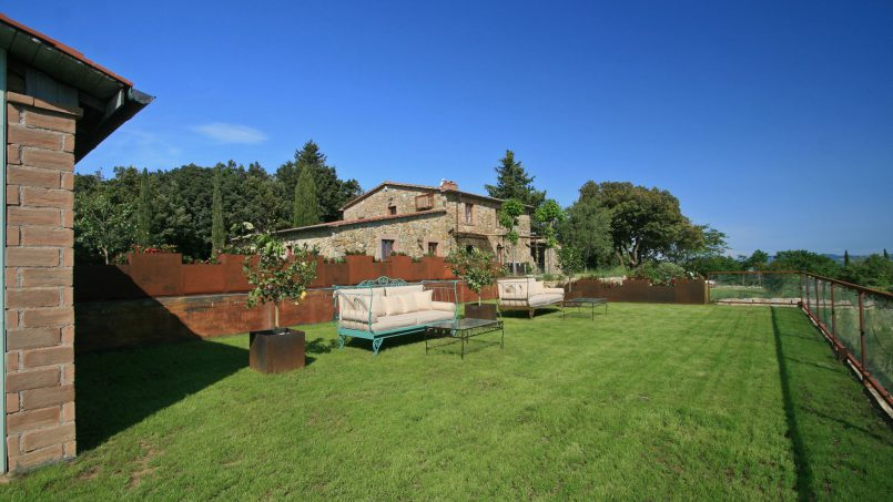 Hillside stone house Villa Frida VI Tuscany Montecatini 7
