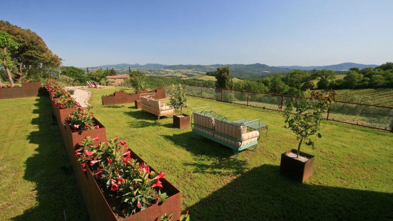 Hillside stone house Villa Frida VI Tuscany Montecatini 8