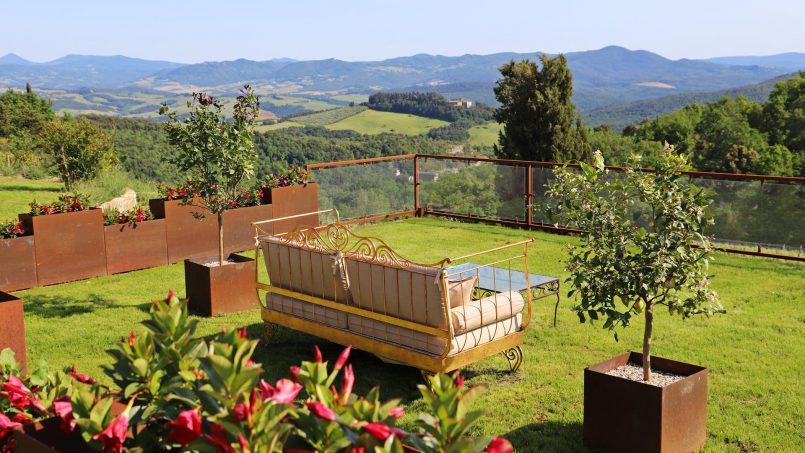 Hillside stone house Villa Frida VI Tuscany Montecatini 9