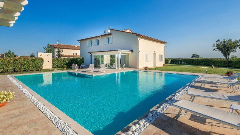 Modern style Villa Acquaterme Tuscany Monsummano 1