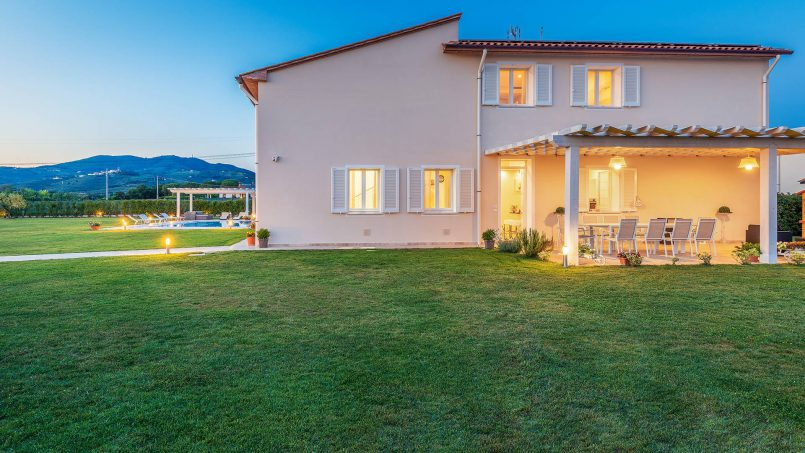Modern style Villa Acquaterme Tuscany Monsummano 13