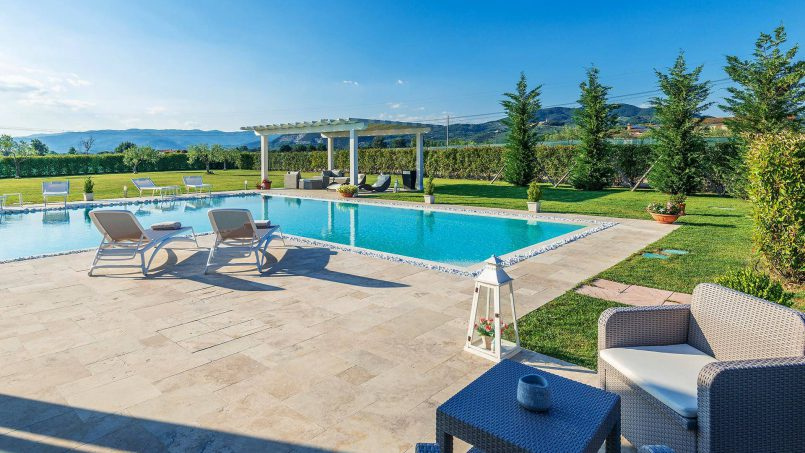 Modern style Villa Acquaterme Tuscany Monsummano 14