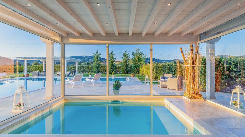 Modern style Villa Acquaterme Tuscany Monsummano 16