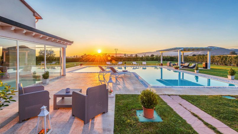 Modern style Villa Acquaterme Tuscany Monsummano 2