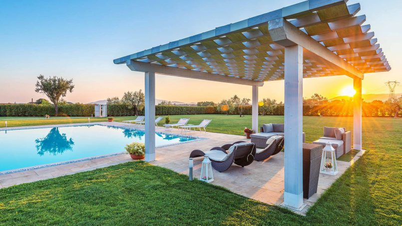 Modern style Villa Acquaterme Tuscany Monsummano 7