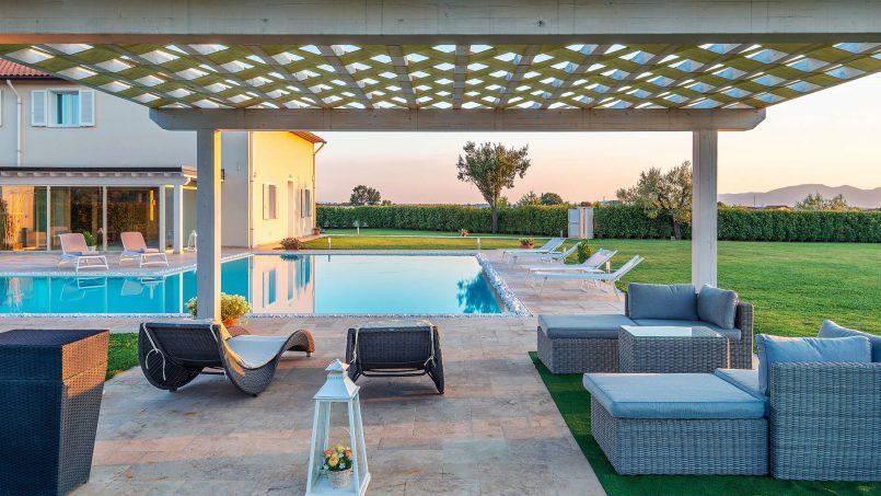 Modern style Villa Acquaterme Tuscany Monsummano 9