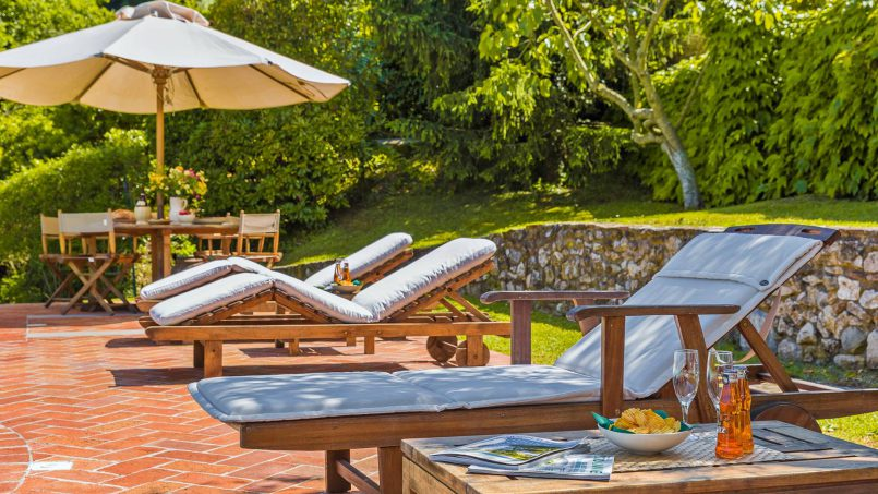 Hillside historic Villa Monsignore Tuscany Monsummano Terme 10
