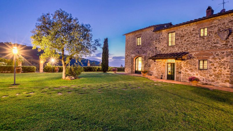 Hillside historic Villa Monsignore Tuscany Monsummano Terme 14
