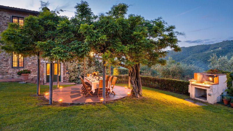 Hillside historic Villa Monsignore Tuscany Monsummano Terme 15