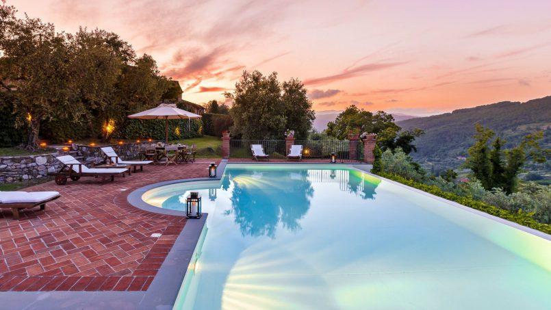 Hillside historic Villa Monsignore Tuscany Monsummano Terme 18