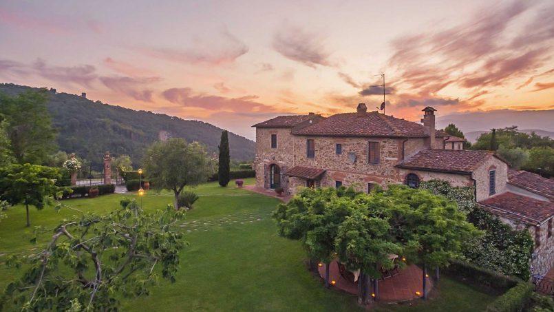 Hillside historic Villa Monsignore Tuscany Monsummano Terme 19