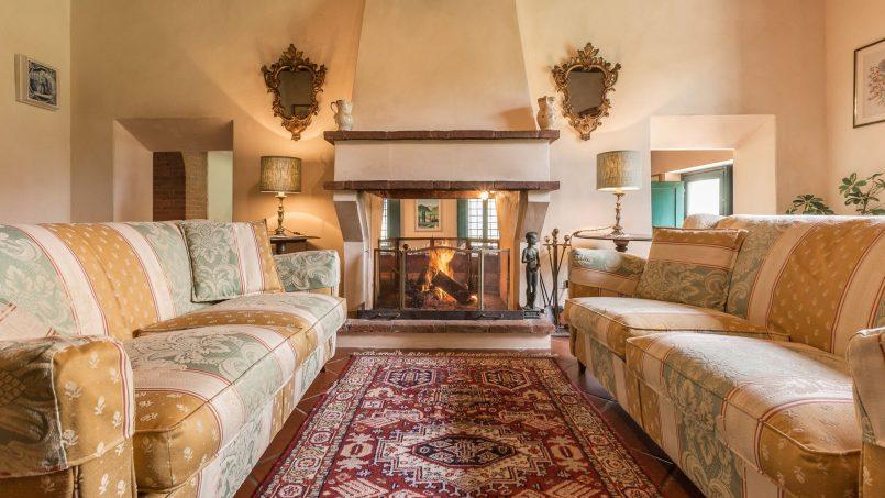 Hillside historic Villa Monsignore Tuscany Monsummano Terme 22