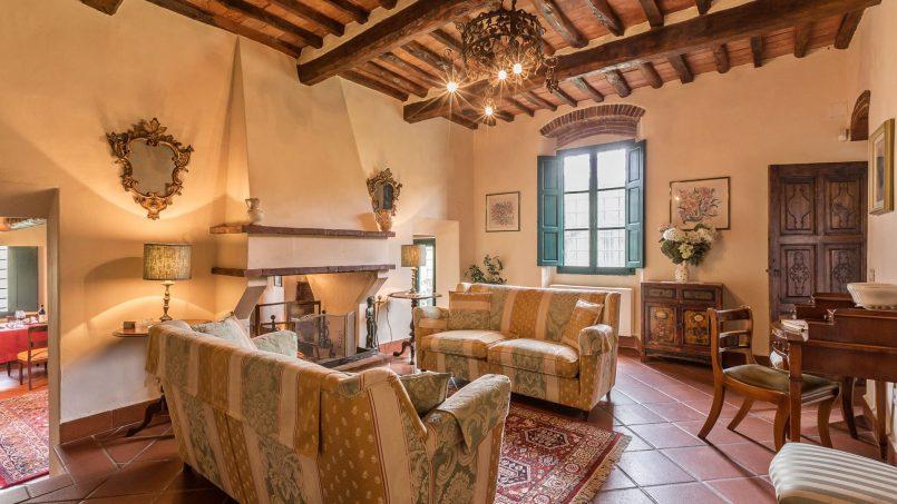 Hillside historic Villa Monsignore Tuscany Monsummano Terme 23