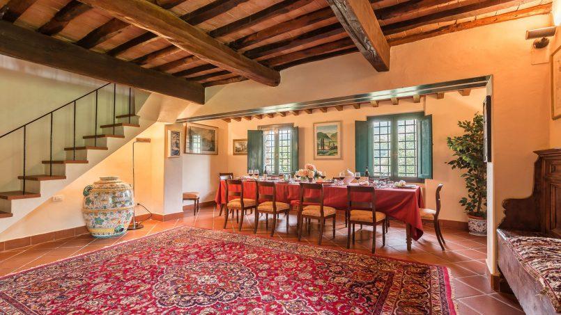 Hillside historic Villa Monsignore Tuscany Monsummano Terme 29