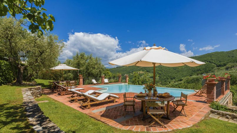 Hillside historic Villa Monsignore Tuscany Monsummano Terme 4