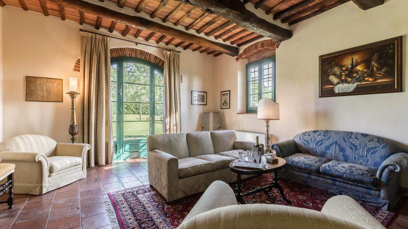 Hillside historic Villa Monsignore Tuscany Monsummano Terme 45
