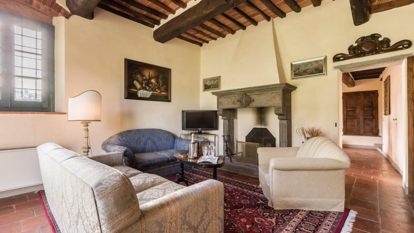 Hillside historic Villa Monsignore Tuscany Monsummano Terme 57