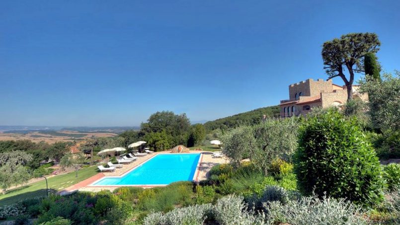 Villa with pool Torre XII Tuscany Montaione 1