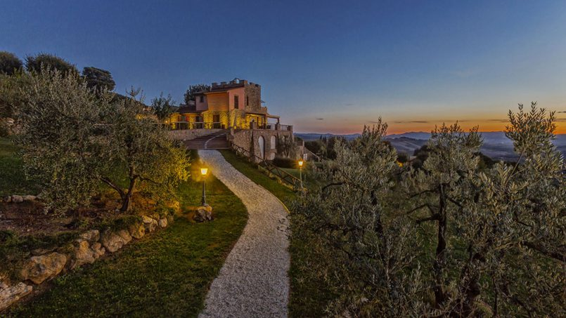 Villa with pool Torre XII Tuscany Montaione 12