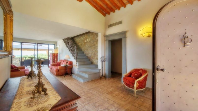 Villa with pool Torre XII Tuscany Montaione 17