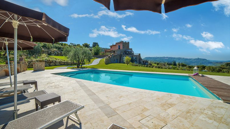 Villa with pool Torre XII Tuscany Montaione 4