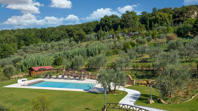 Villa with pool Torre XII Tuscany Montaione 6