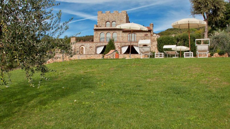 Villa with pool Torre XII Tuscany Montaione 9