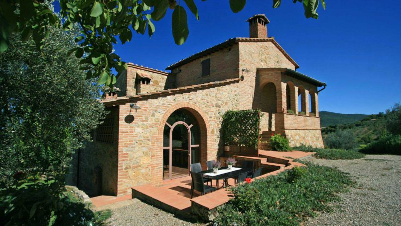 Detached Villa Virgilius Tuscany Radicondoli