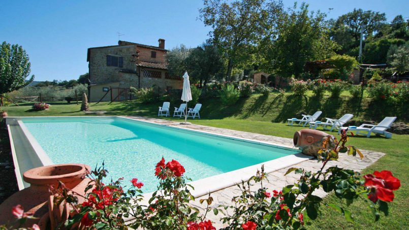 Detached Villa Virgilius Tuscany Radicondoli 2