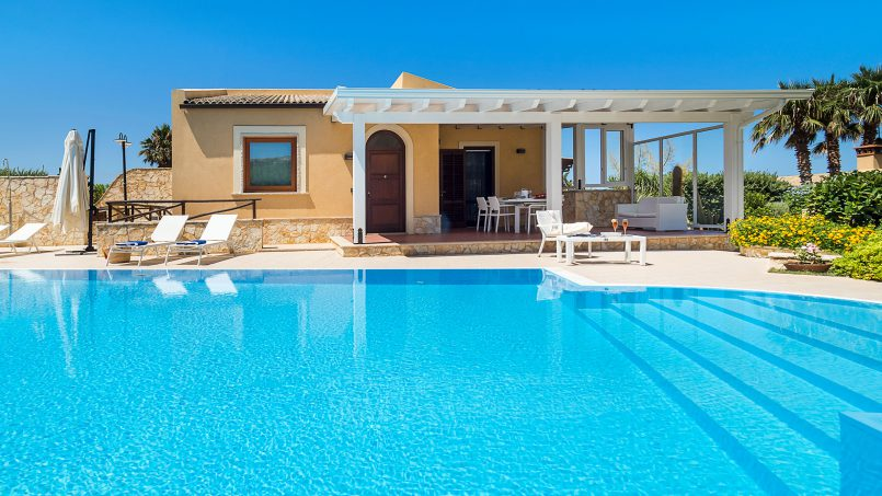 Villa with pool Acqua Azzurra Sicily Custonaci 1
