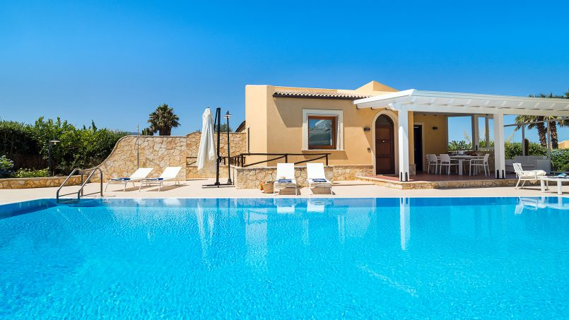 Villa with pool Acqua Azzurra Sicily Custonaci 2