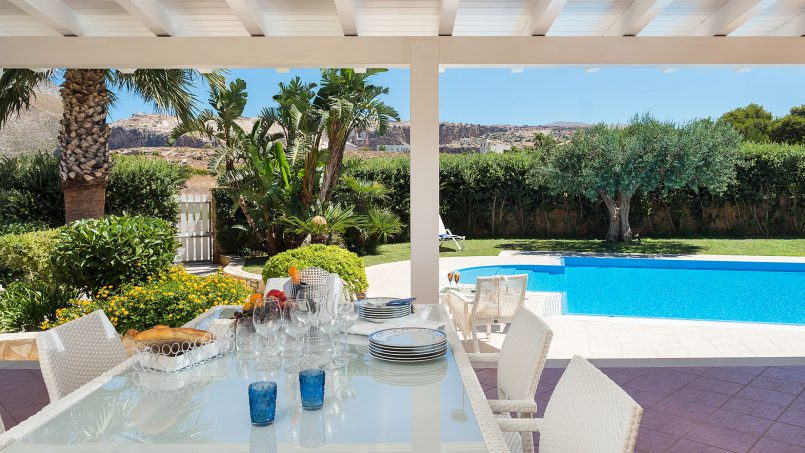 Villa with pool Acqua Azzurra Sicily Custonaci 10