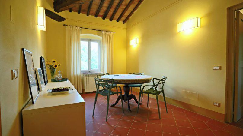 Hillside stone built Villa Insieme XII Tuscany Siena 74