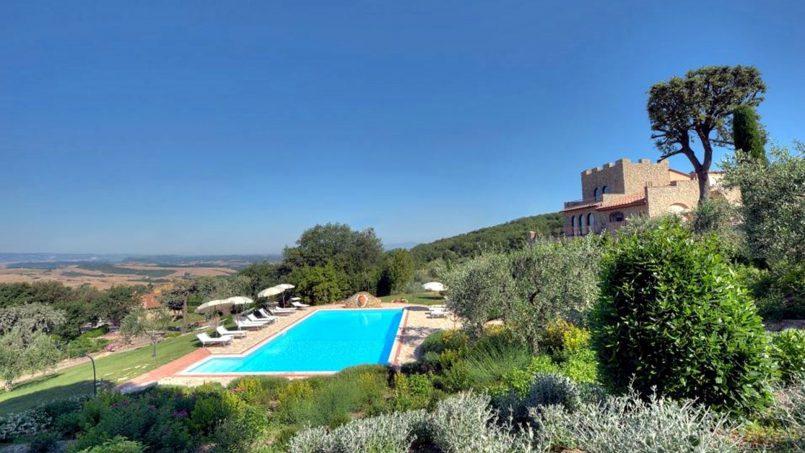 Hillside Villa Torre VIII Tuscany Montaione 1