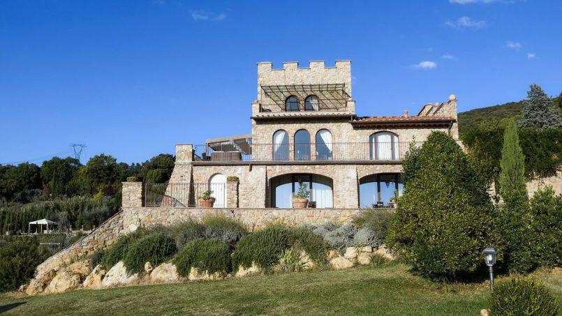 Hillside Villa Torre VIII Tuscany Montaione 10