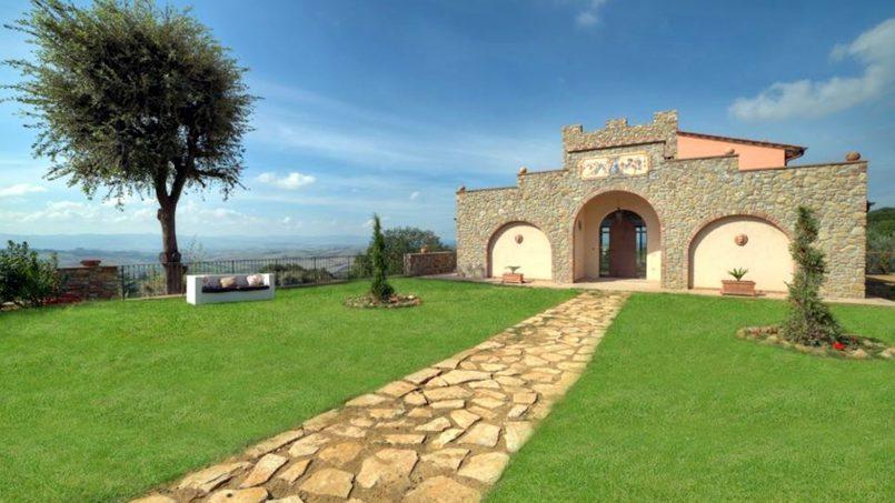 Hillside Villa Torre VIII Tuscany Montaione 11