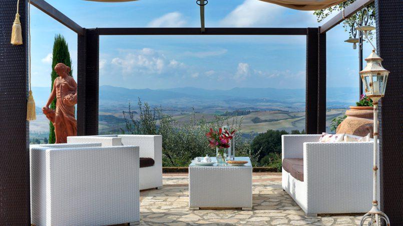 Hillside Villa Torre VIII Tuscany Montaione 13