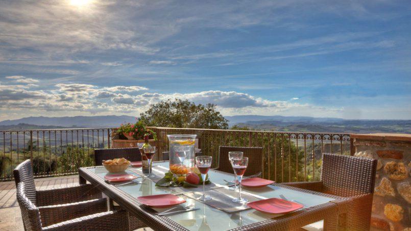 Hillside Villa Torre VIII Tuscany Montaione 16