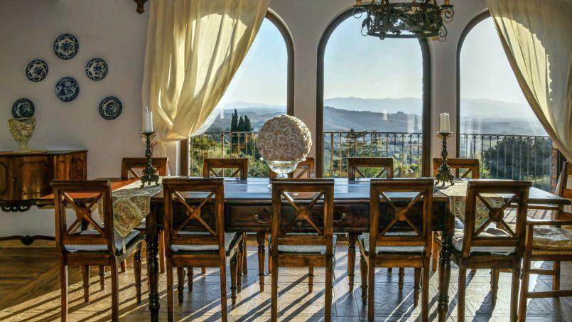 Hillside Villa Torre VIII Tuscany Montaione 21