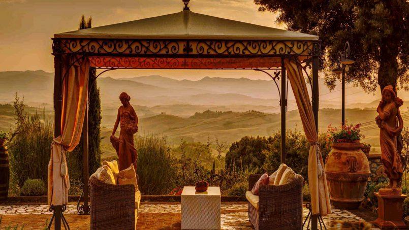 Hillside Villa Torre VIII Tuscany Montaione 3