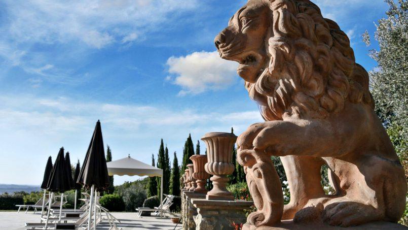 Hillside Villa Torre VIII Tuscany Montaione 8
