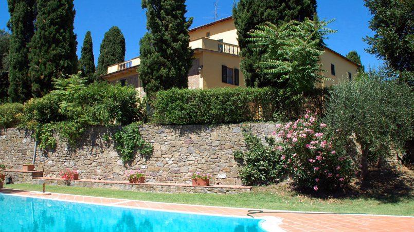 Elegant hillside Villa Val d'Orcia Tuscany Siena Radicondoli 7