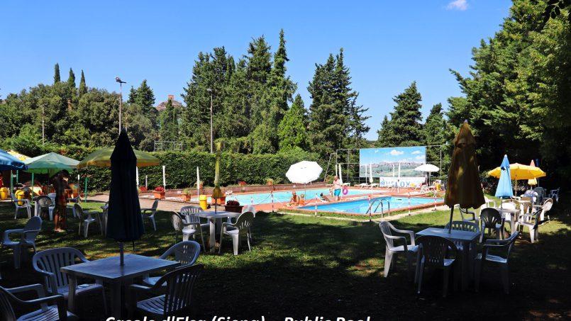 Village house Casa Lilia Tuscany Siena piscina-a