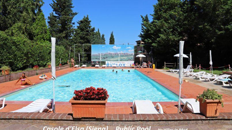 Village house Casa Lilia Tuscany Siena piscina-c